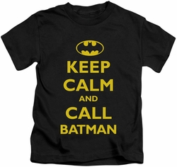 Batman kids t-shirt Call Batman black