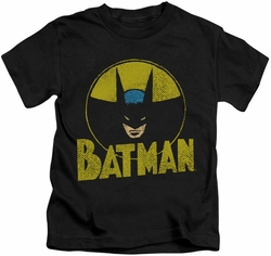 Batman kids t-shirt Circle Bat black