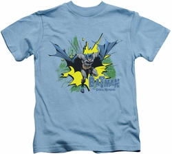 Batman kids t-shirt City Splash carolina blue