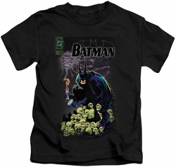 Batman kids t-shirt Cover #516 black
