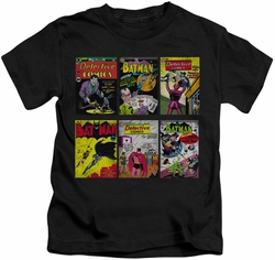 Batman kids t-shirt Covers black