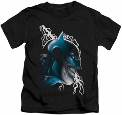 Batman kids t-shirt Crazy Grin black