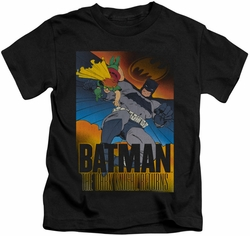 Batman kids t-shirt Dark Knight Returns black