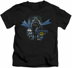 Batman kids t-shirt From The Depths black