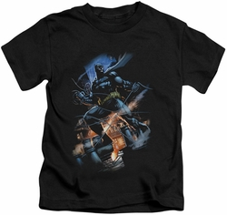 Batman kids t-shirt Gotham Knight black