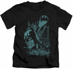 Batman kids t-shirt Gritted Teeth black