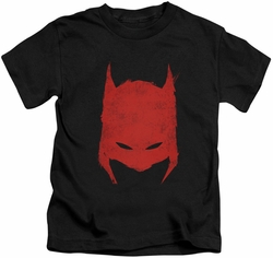 Batman kids t-shirt Hacked & Scratched black