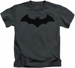 Batman kids t-shirt Hush Logo charcoal