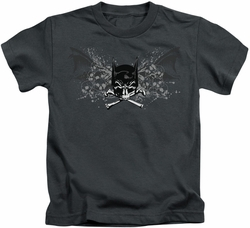 Batman kids t-shirt Ill Omen charcoal