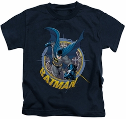 Batman kids t-shirt In The Crosshairs navy