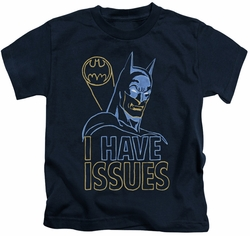 Batman kids t-shirt Issues navy