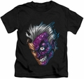 Two-Face kids t-shirt Just Two Face black