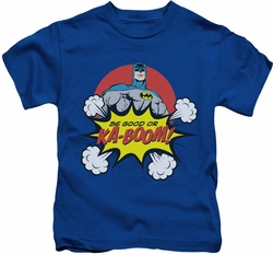 Batman kids t-shirt Kaboom royal