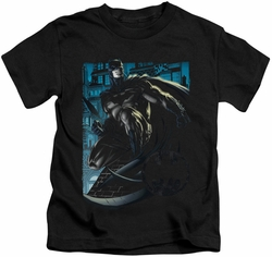 Batman kids t-shirt Knight Falls In Gotham black