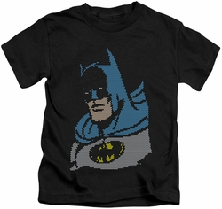 Batman kids t-shirt Lite Brite black