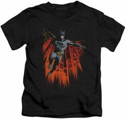 Batman kids t-shirt Majestic black