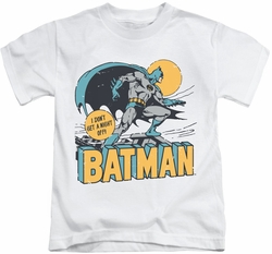 Batman kids t-shirt Night Off white