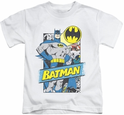 Batman kids t-shirt Out Of The Pages white