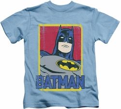 Batman kids t-shirt Primary carolina blue