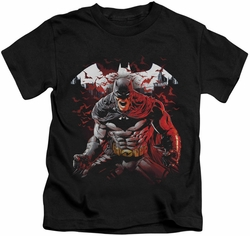 Batman kids t-shirt Raging Bat black