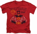Batman kids t-shirt Ready For Action red