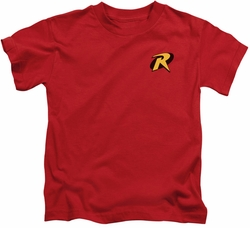 Batman kids t-shirt Robin Logo red