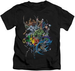 Batman kids t-shirt Saints And Psychos black