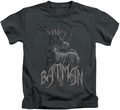 Batman kids t-shirt Scary Right Hand charcoal