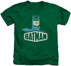 Batman kids t-shirt Sign kelly green