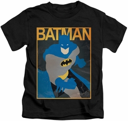 Batman kids t-shirt Simple Poster black