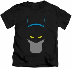 Batman kids t-shirt Simplified black