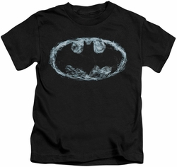Batman kids t-shirt Smoke Signal black