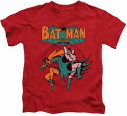 Batman kids t-shirt Starling Shock red