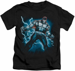 Batman kids t-shirt Stormy Bane black