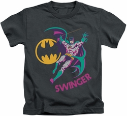 Batman kids t-shirt Swinger charcoal
