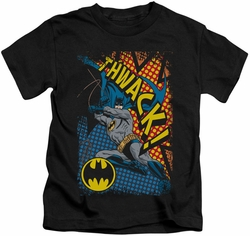 Batman kids t-shirt Thwack black