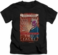 Two-Face kids t-shirt Two Faces black