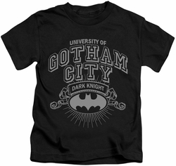 Batman kids t-shirt University Of Gotham black