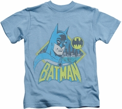 Batman kids t-shirt Watch Yourself carolina blue