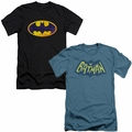 Batman Logo mens slim fit t-shirts