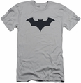 Batman Logo slim-fit t-shirt 52 Title Logo mens silver