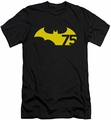 Batman Logo slim-fit t-shirt 75 Logo 2 mens black
