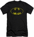 Batman Logo slim-fit t-shirt Bats On Bats mens black
