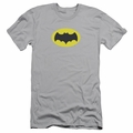 Batman Logo slim-fit t-shirt Chest Logo mens silver