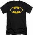 Batman Logo slim-fit t-shirt Classic Logo mens black
