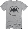 Batman Logo slim-fit t-shirt Handywork mens silver
