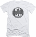 Batman Logo slim-fit t-shirt Knight Knockout mens white