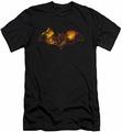 Batman Logo slim-fit t-shirt Molten Logo mens black
