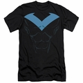 Batman Logo slim-fit t-shirt Nightwing Uniform mens black