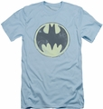 Batman Logo slim-fit t-shirt Old Time Logo mens light blue